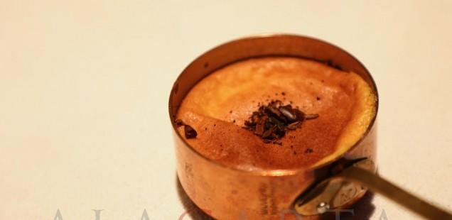 2019-03 Restaurante Etxebarri Souffle Chocolate