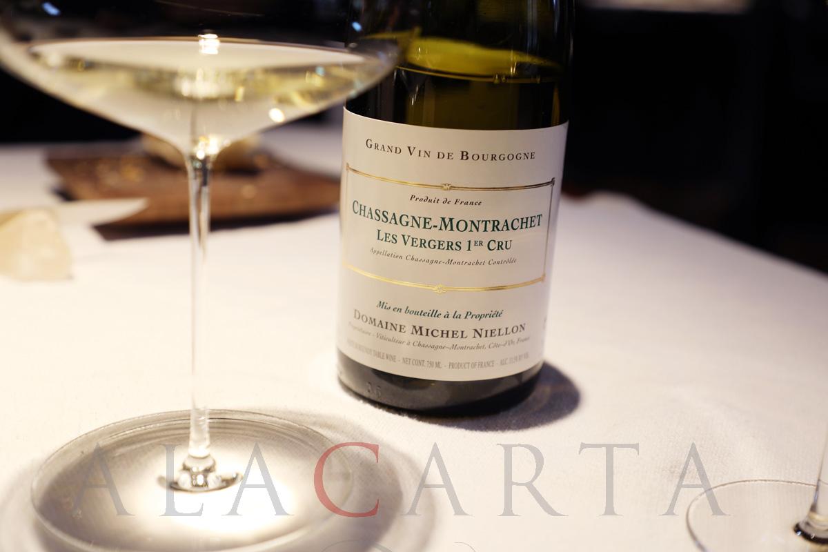 2019-03 Restaurante Etxebarri Vino Chassagne Montrachet