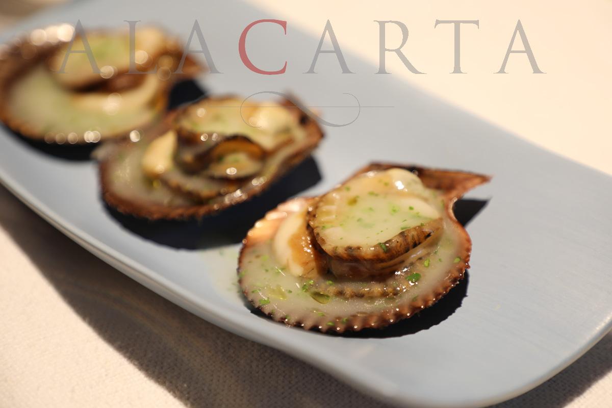 2019-03 Restaurante Etxebarri Zamburiñas
