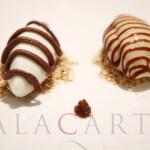 2020-01 Restaurant NADODI Dessert Dolce Mousse and Semai Chocolate