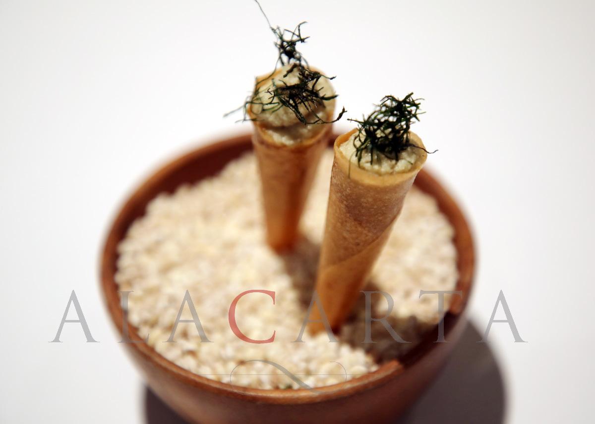 2020-01 Restaurant NADODI Indian contemporary Cuisine Dosa
