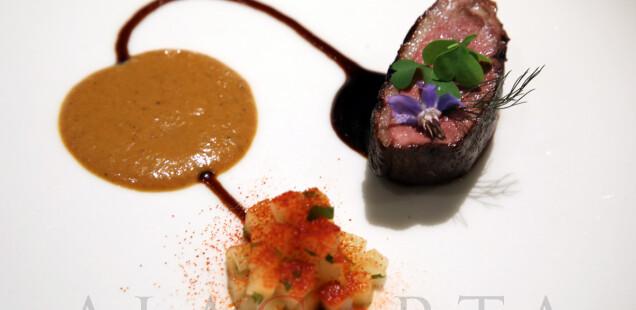 2020-01 Restaurant NADODI Magret Duck Malasia