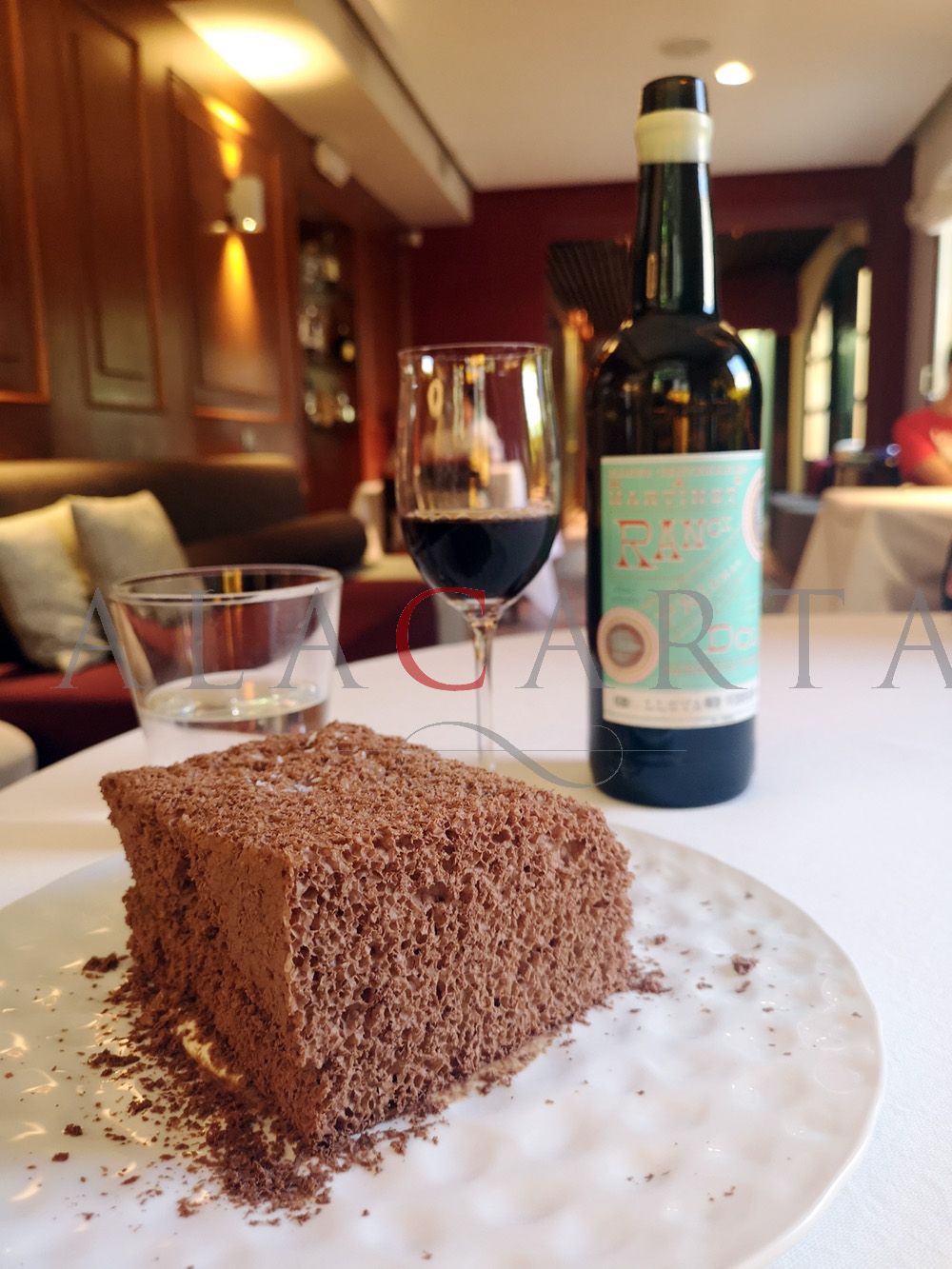 2020-08-08 Supermousse Chocolate Restaurante La Escaleta