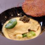 BRAZIER Ostra Caviar y Salchicha Andouille
