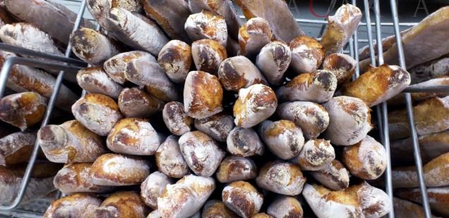 Baguettes Boulagerie Pichard Parigi