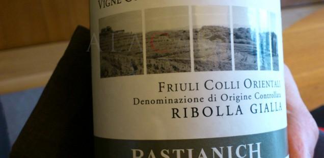 Bastianich Vigne Orsone Ribolla Gialla DOC Friuli Colli Orientali
