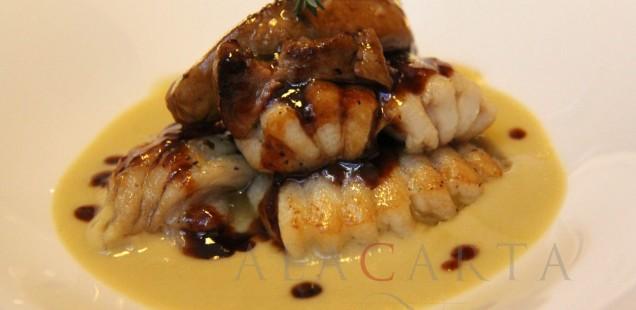 Bocaditos de Raya con filete de Foie gras