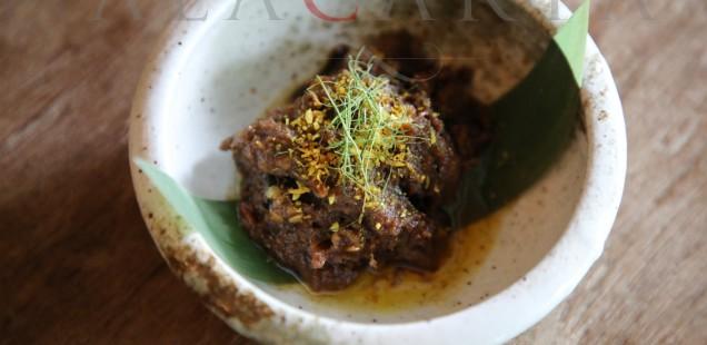 Candlenut Restaurant Westholme Wagyu Beef Rendang