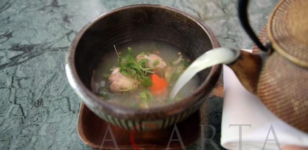 Candlenut restaurant Bakwan Kepiting Soup