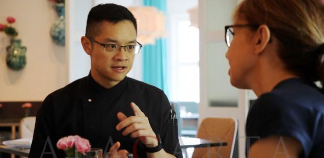 Candlenut restaurant Chef Malcolm Lee Singapore
