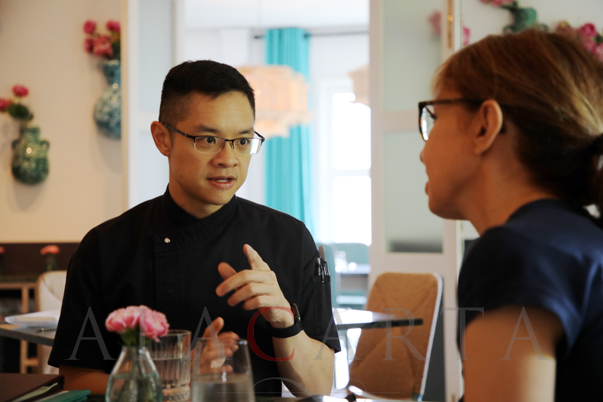 Candlenut restaurant Chef Malcolm Lee Singapore