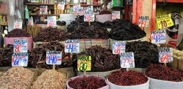 Chiles Mercado Merced