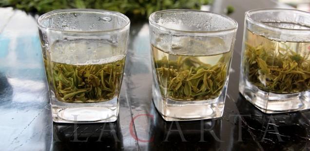 Chinese green tea Bi Luo Chun