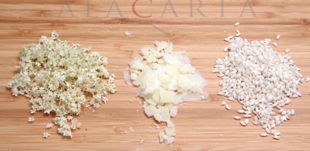 Flor de Sauco Arroz Parmigiano