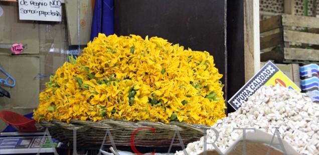 Flores Calabacin Mercado Merced