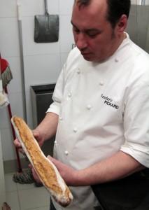 Frederic Pichard et sa baguette