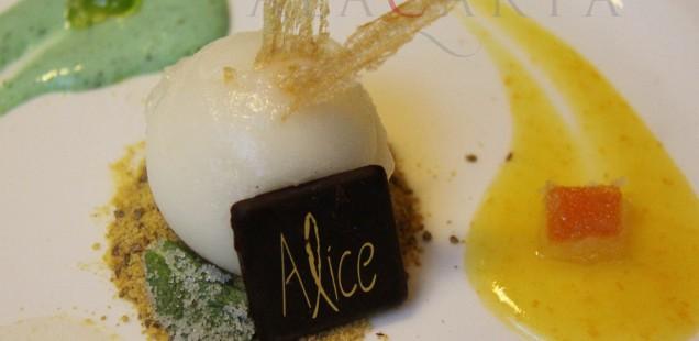 Fresco mediterraneo: sorbete y crema de cítricos de Amalfi