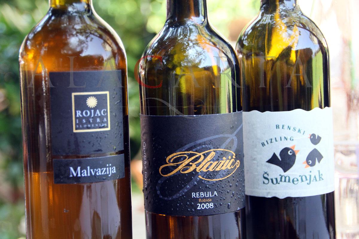 Hisa Franko wine pairing