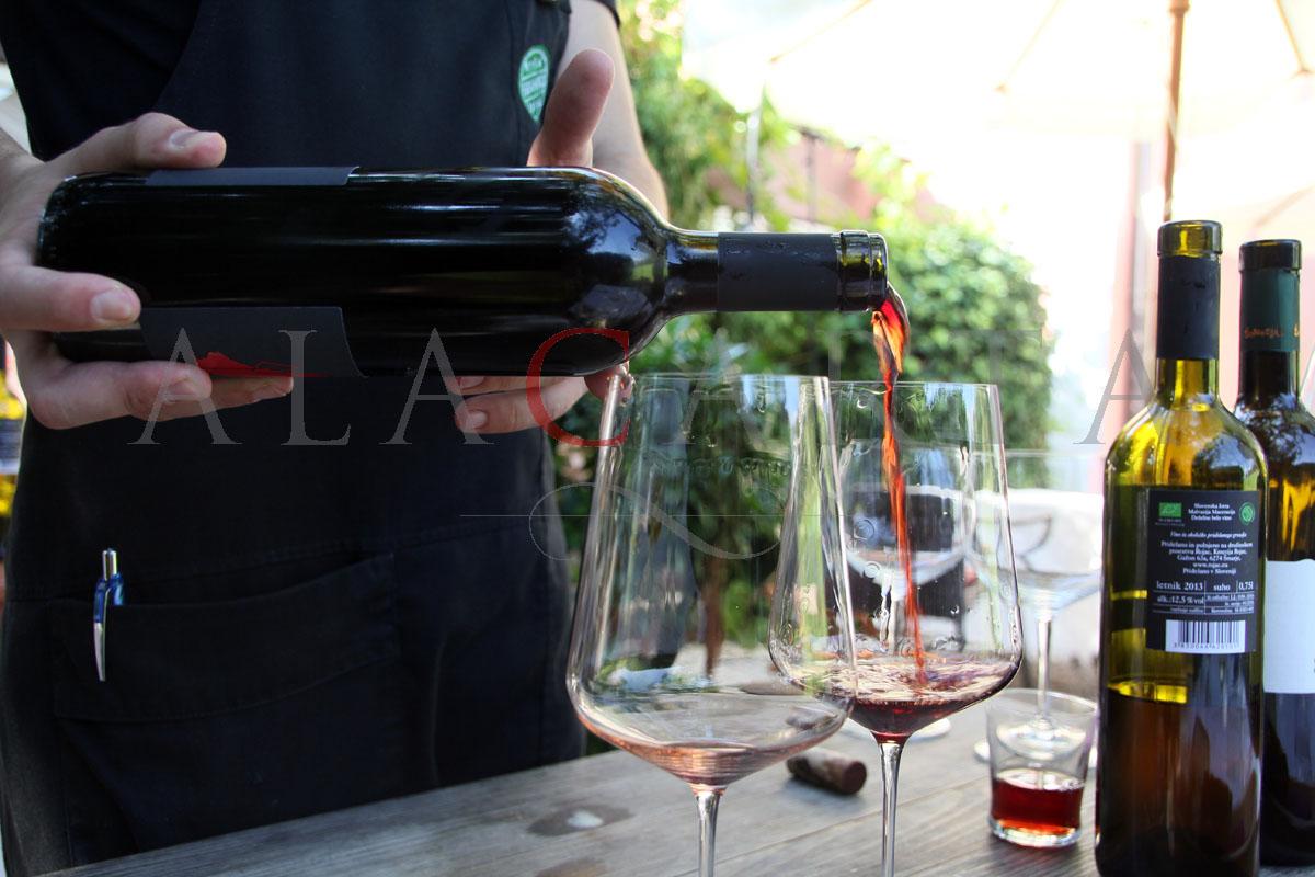 Hisa Franko wine service