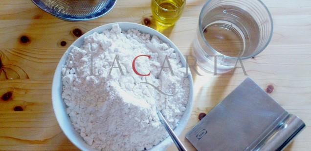 Ingredientes masa rocciata