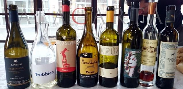 Cossater vinos blancos naturales italianos
