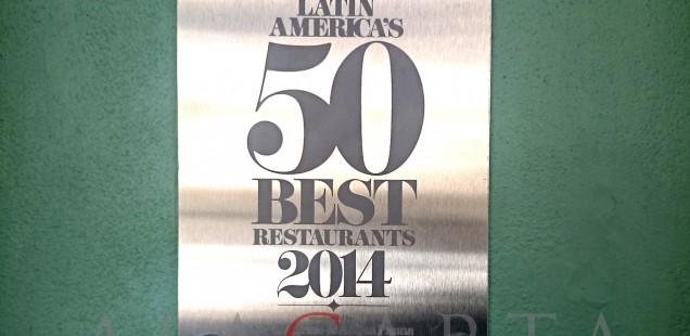Latin America 50 Best Restaurant Quintonil