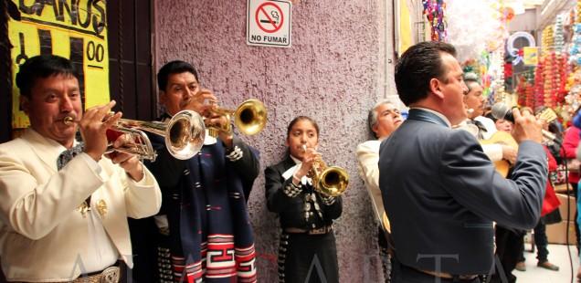 Mariachis Guadalupe Mercado Merced