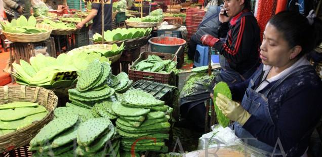Nopales Mercado Merced
