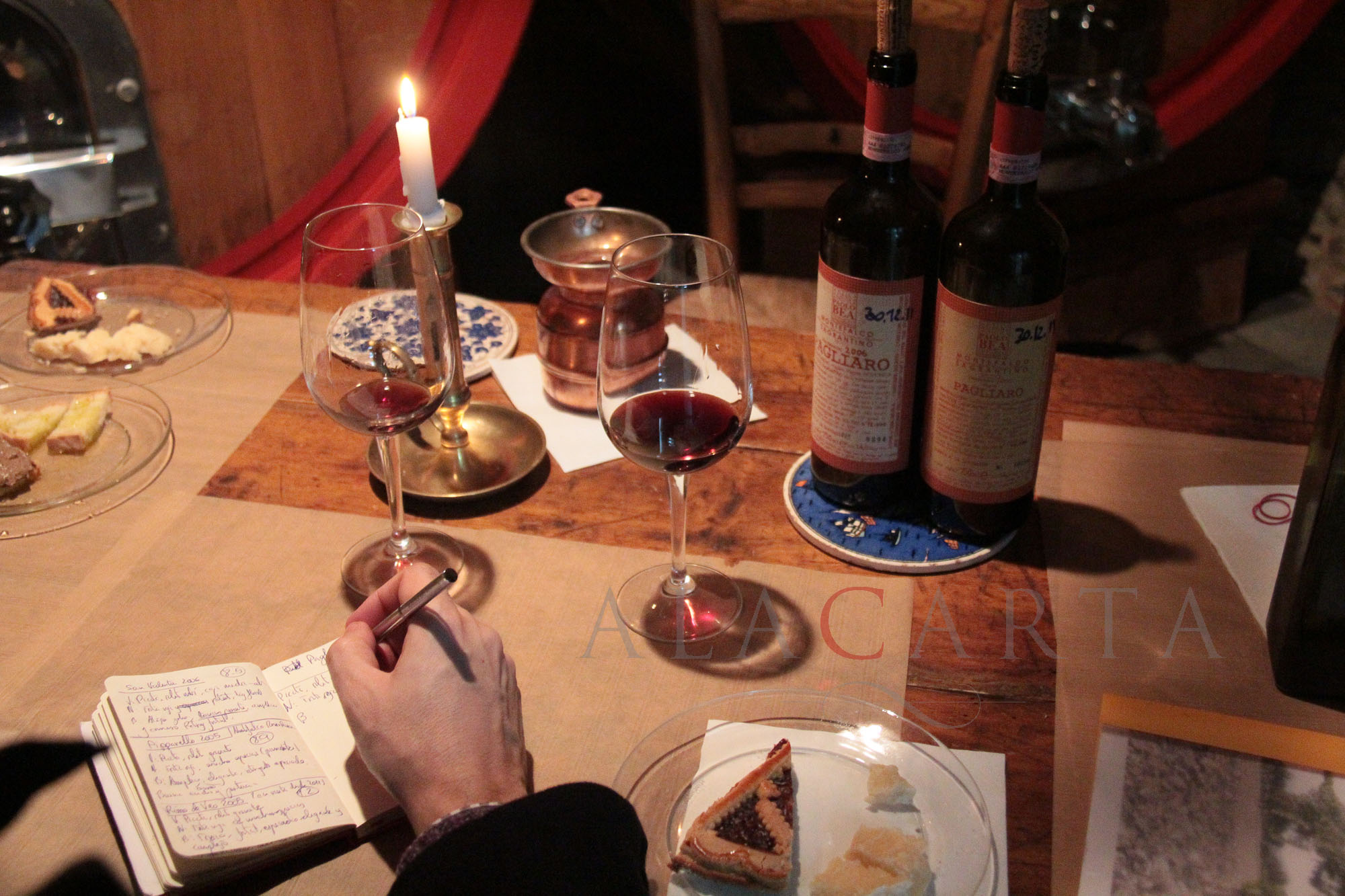 Notas de cata de los vinos de Paolo Bea
