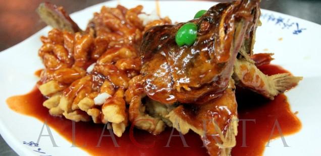 Cena en el Restaurante de la Familia Wu: los antiguos platos tradicionales de Suzhou, China