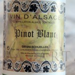Pinot Blanc 2011 Domaine Schuellers