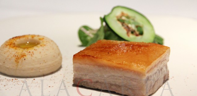 Restaurante Pujol Panza de Cerdo Frita