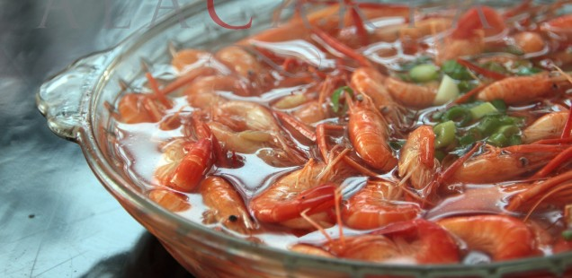Shrimps Taihu He Xia