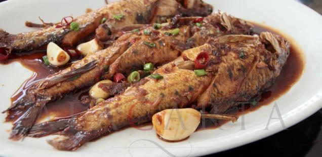 Taihu lake fish Hong Shao Ji Lang Yu
