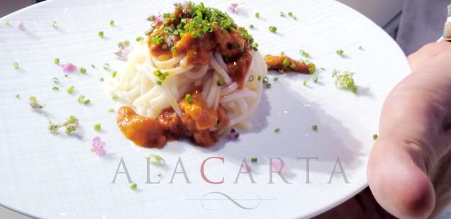 Takazawa Spaghetti Scallop