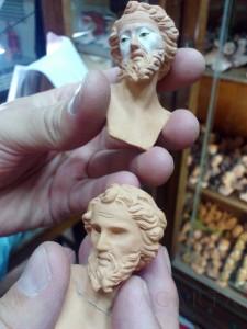 Teste Terracotta Presepe