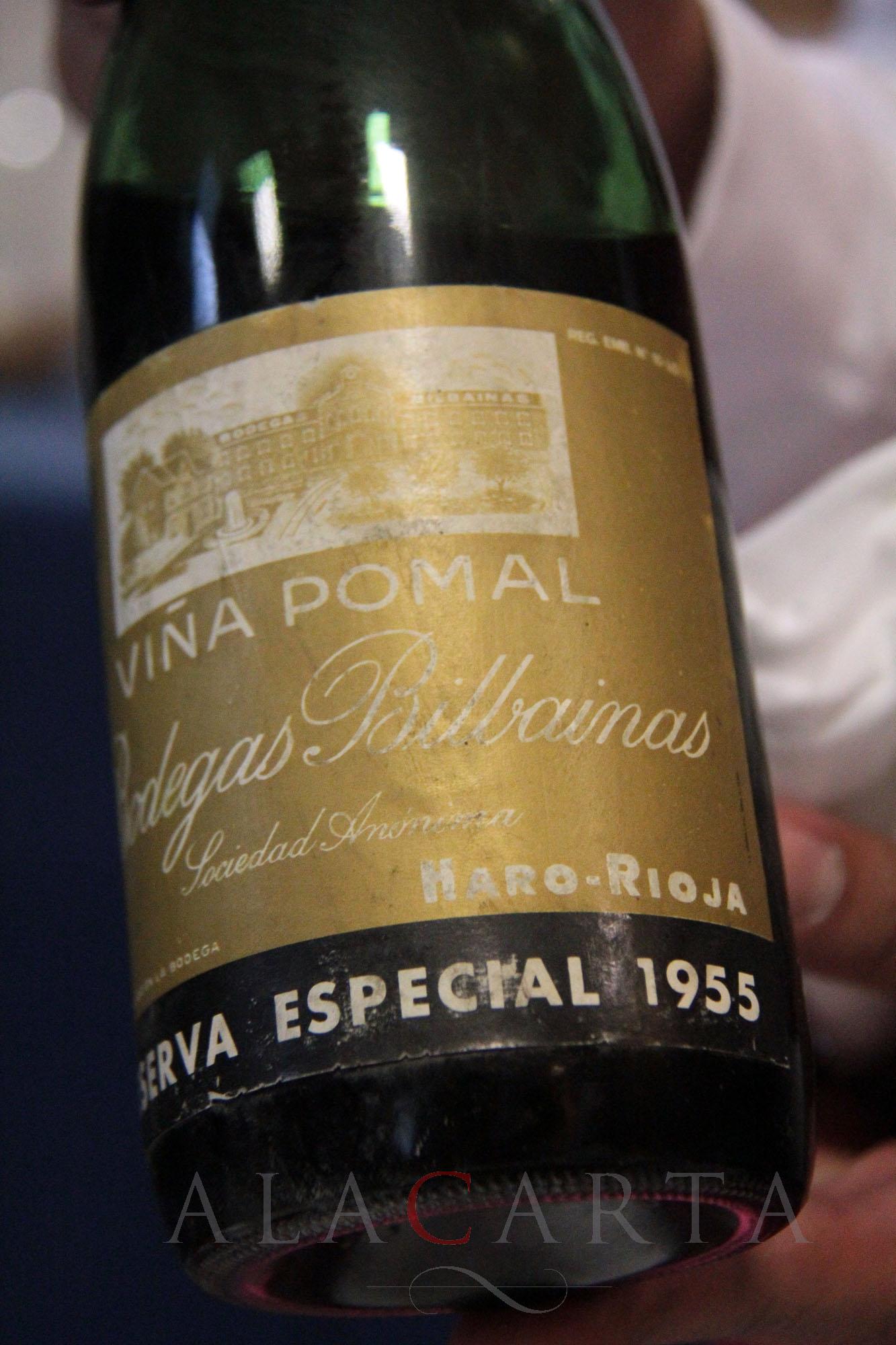 Viña Pomal 1955