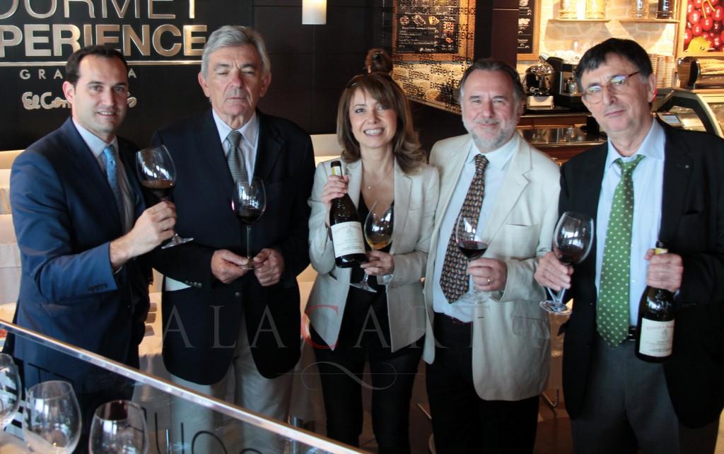 Wine tasting Chateau de Beaucastel grupo